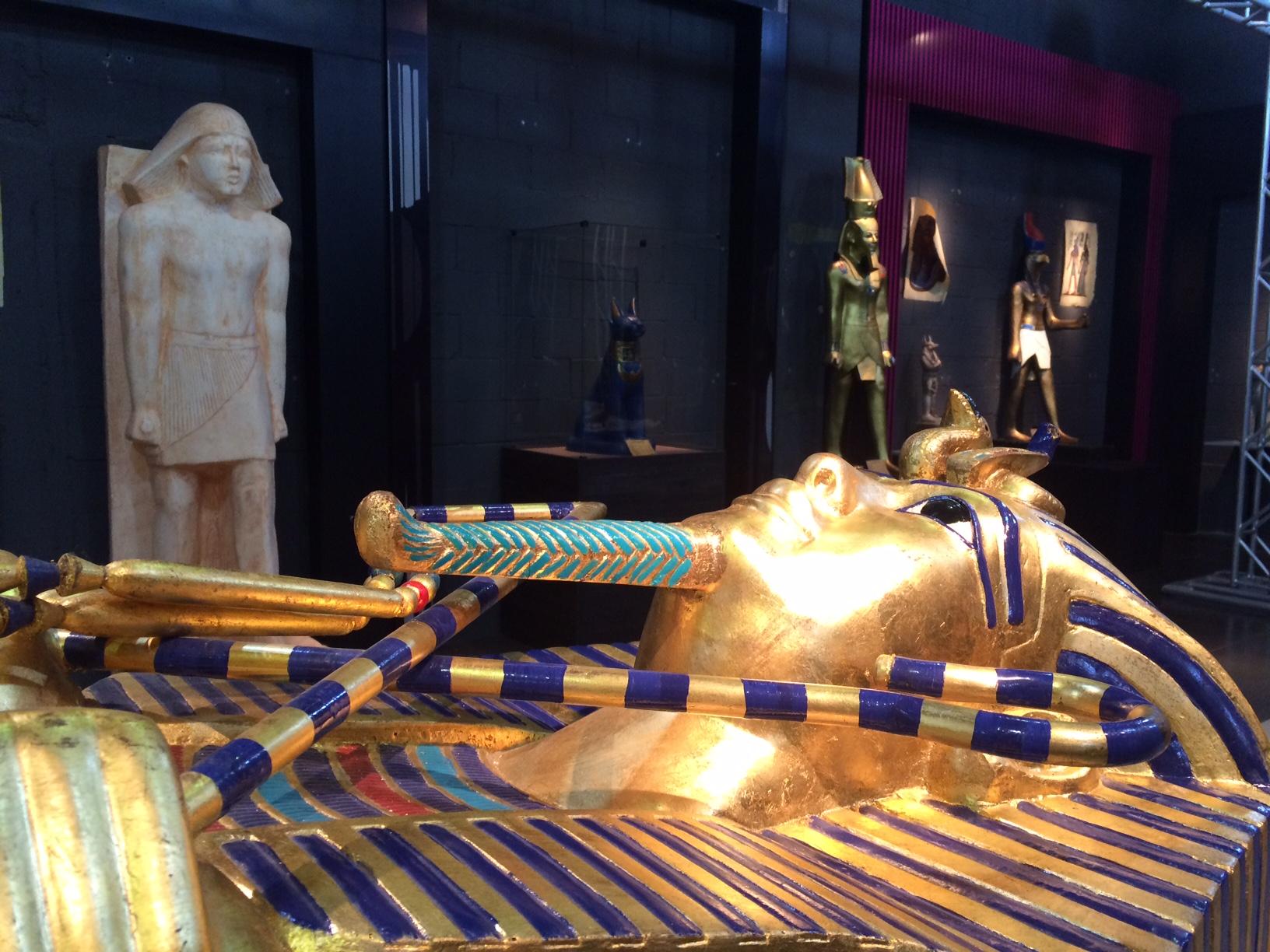 Museu do Egito Itinerante – Shopping Via Brasil