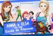 Anna e Elsa em uma Escola de Princesas – Teatro dos Grandes Atores