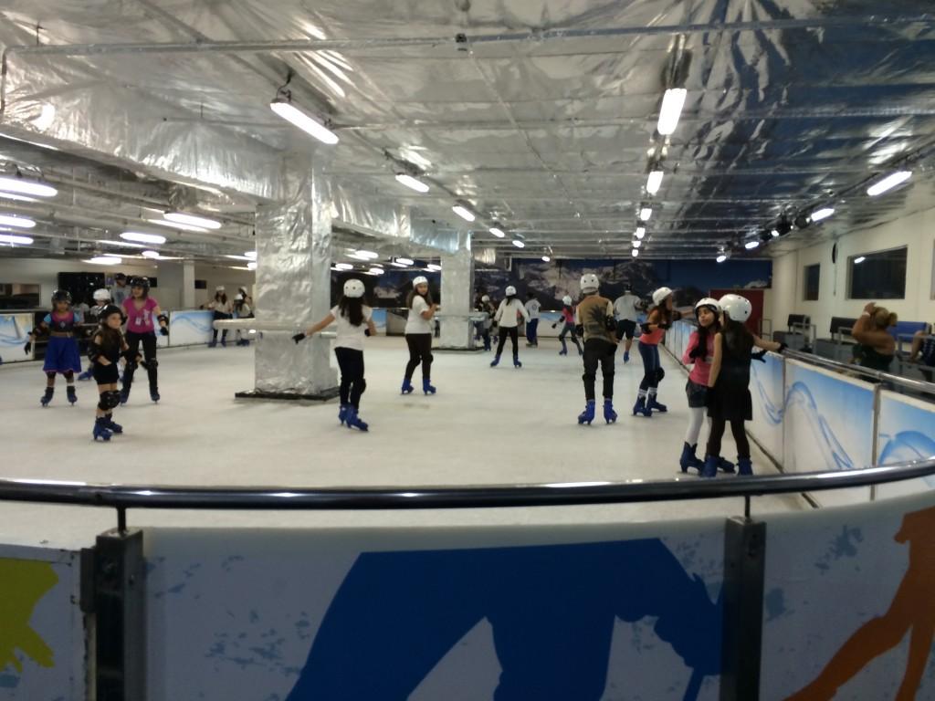 Estação On Ice no Américas Shopping