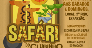 Clubinho Safari cartaz