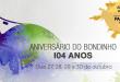 Aniversário do Bondinho – 104 anos