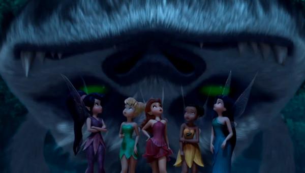 Tinker Bell e o monstro